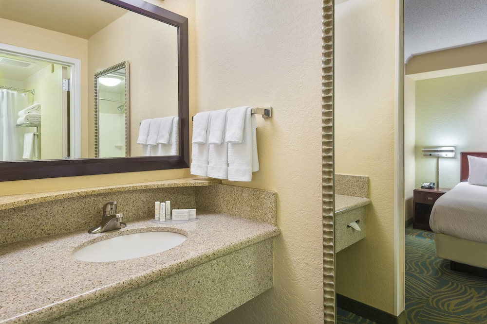 Bathroom, SpringHill Suites by Marriott Fort Myers Airport