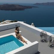 Piscina en la terraza