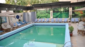 Indoor pool, outdoor pool, open open 24 hours, cabanas (surcharge)