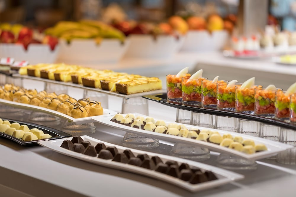 Buffet, AQUA Hotel Silhouette & Spa - Adults Only