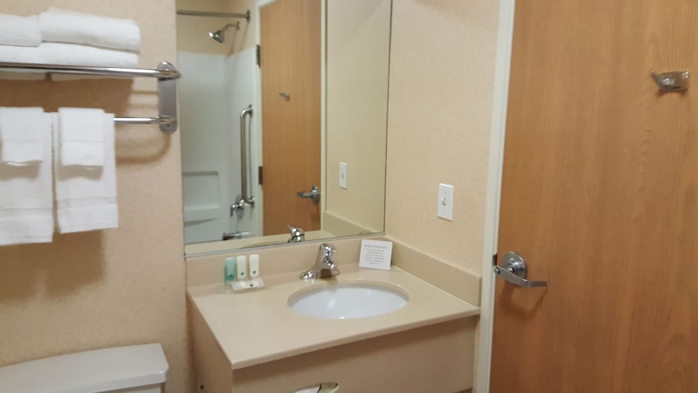 Bathroom, Quality Inn & Suites at Olympic National Park