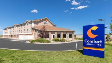 Comfort Inn & Suites Near University of Wyoming