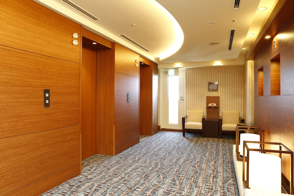 Building design, Hotel JAL City Naha
