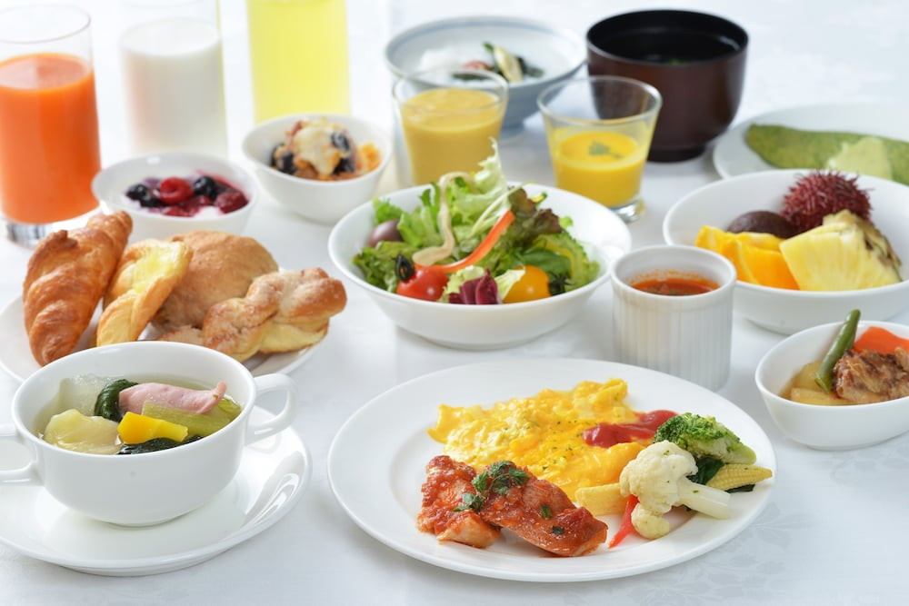 Breakfast Meal, Hotel JAL City Naha