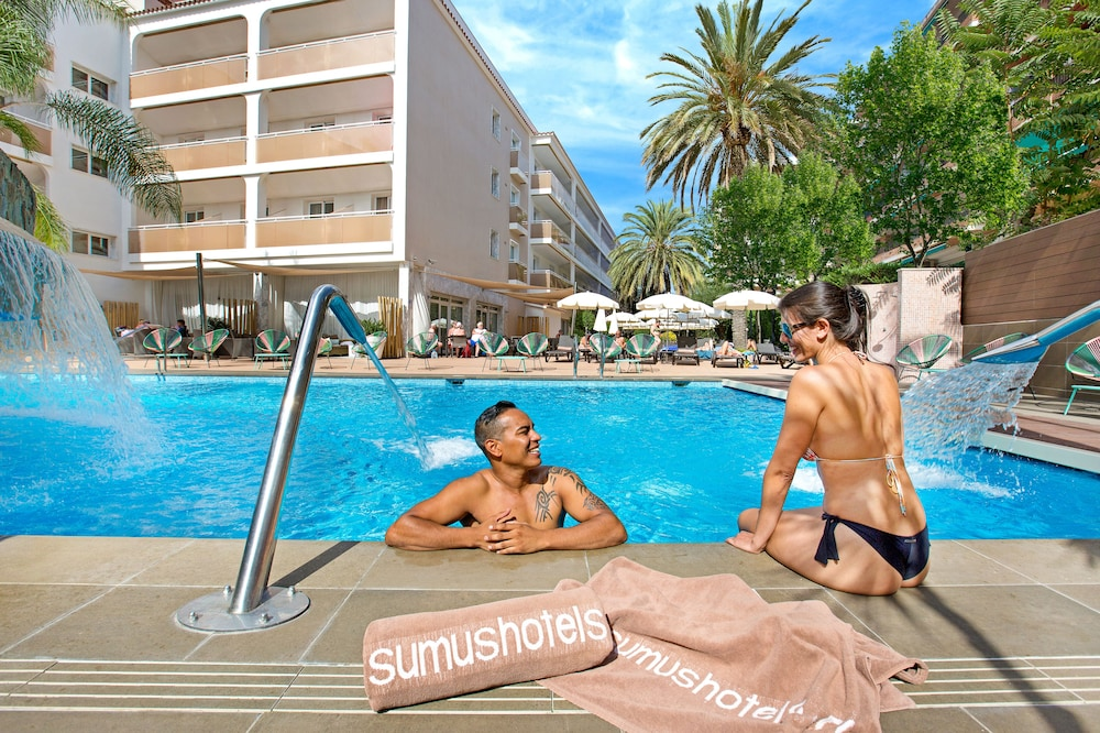 Outdoor Pool, Sumus Hotel Monteplaya Adults Only