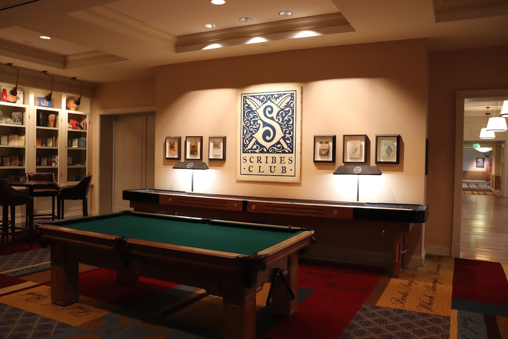 Billiards, Hyatt Regency Lost Pines Resort and Spa