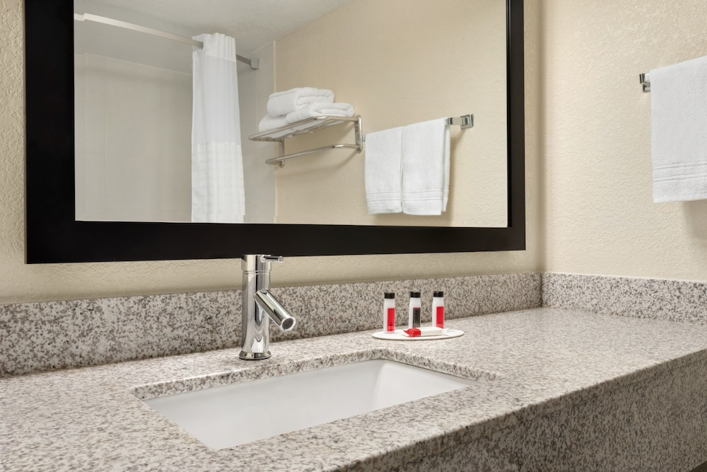 Bathroom Sink, Super 8 by Wyndham Des Moines
