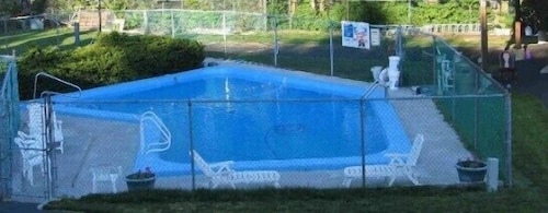 Outdoor Pool, The Atlantic Motel