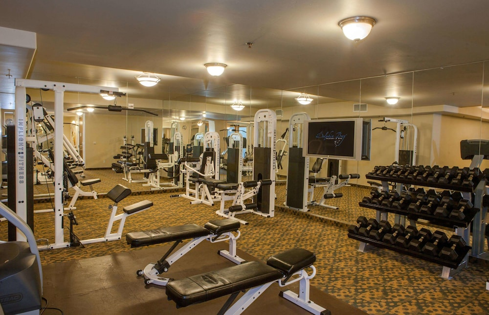 Fitness Facility, Dolphin Bay Resort And Spa