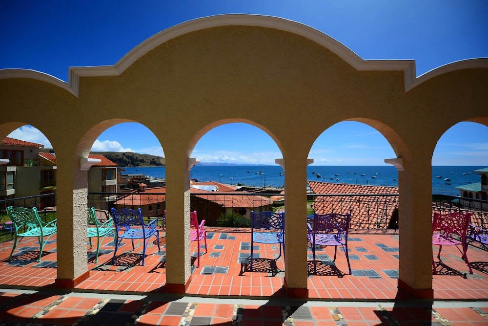 View from Property, Hotel Rosario Lago Titicaca