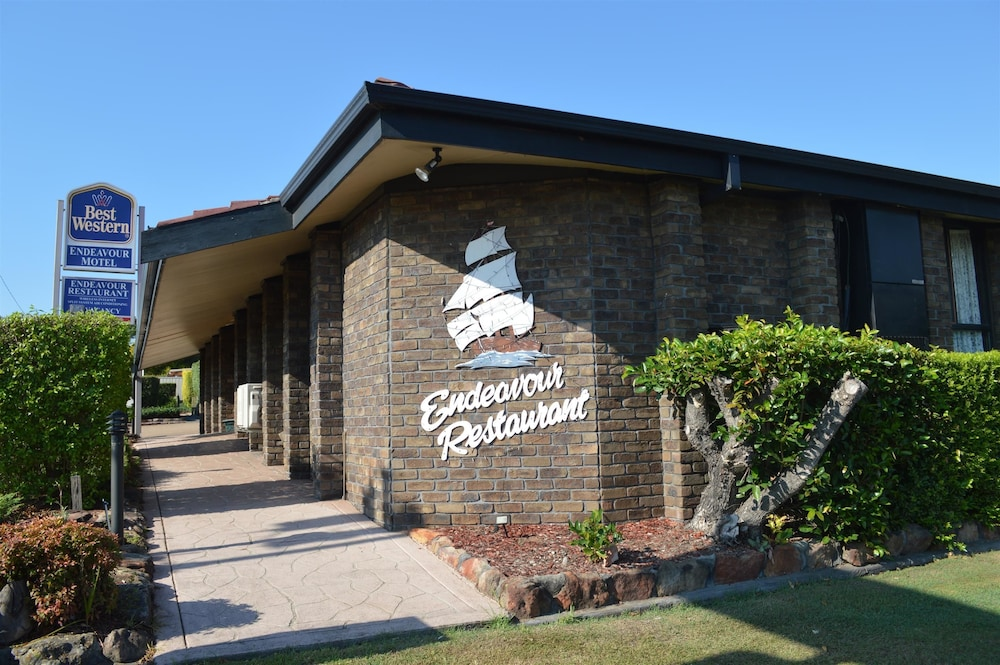 Front of Property, Best Western Endeavour Motel