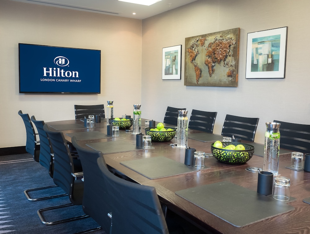 Meeting Facility, Hilton London Canary Wharf