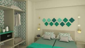 In-room safe, cots/infant beds, WiFi, bed sheets