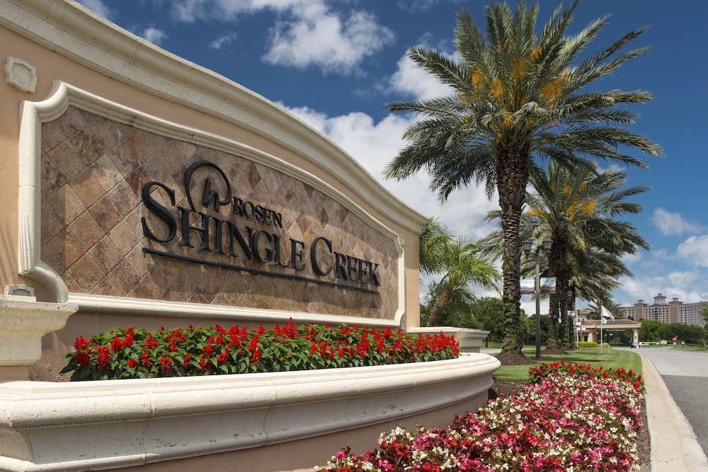Exterior detail, Rosen Shingle Creek