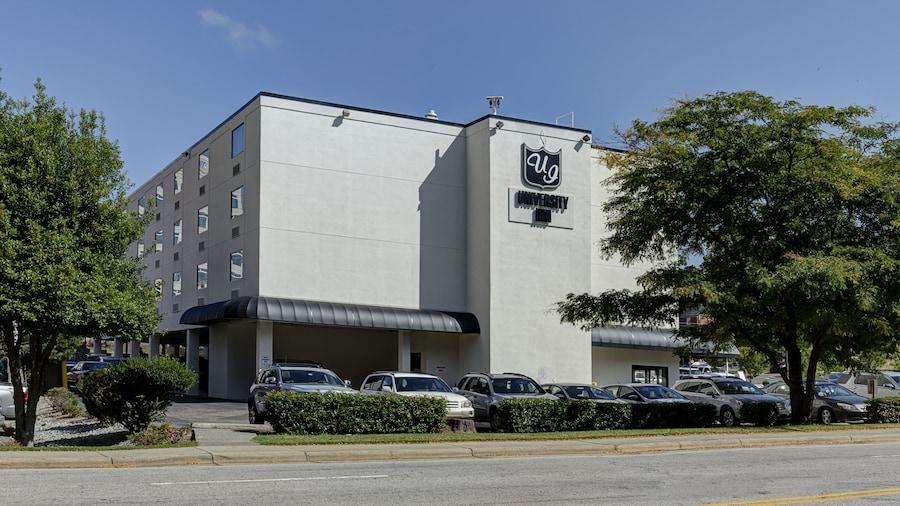 University Inn Durham next to Duke University Medical Center