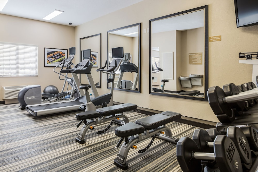Fitness Facility, Candlewood Suites Virginia Beach Town Center, an IHG Hotel