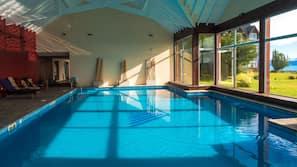 2 piscinas cubiertas