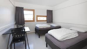 Mørklægningsgardiner, ekstra senge (tillægsgebyr), gratis Wi-Fi