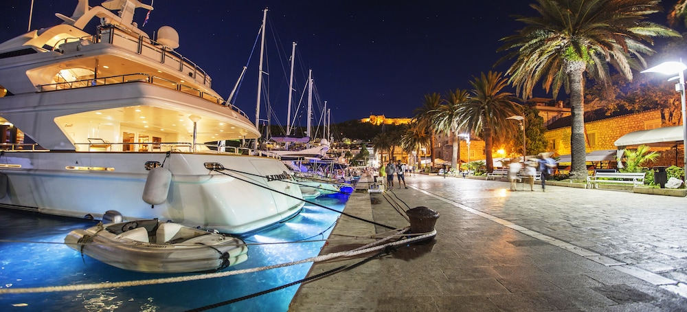 Aerial View, Riva Hvar Yacht Harbour Hotel