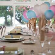 Zona para fiestas de cumpleaños
