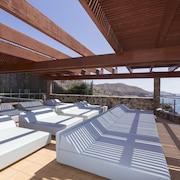 Terraza para tomar el sol
