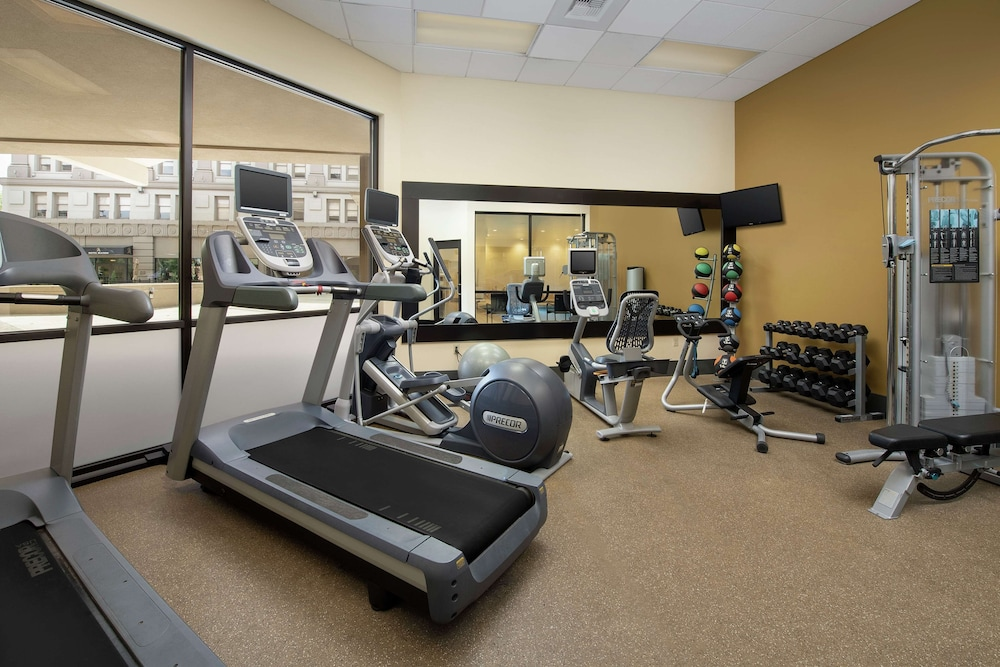 Fitness Facility, Hilton Garden Inn Yakima Downtown