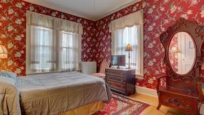 設計每間自成一格、家具佈置各有特色、床單