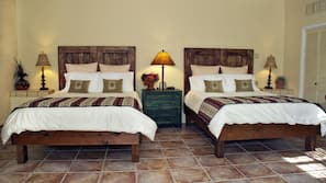 Premium bedding, pillow top beds, individually furnished