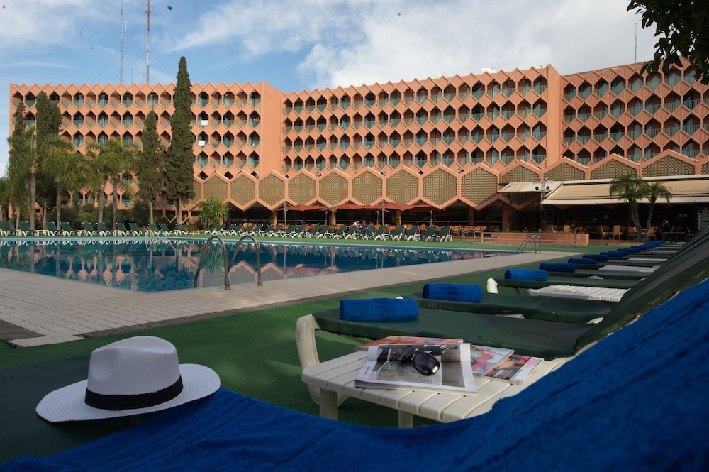 Outdoor Pool, Hotel Atlas Asni