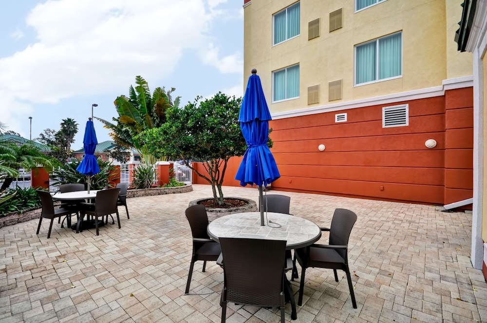 Terrace/Patio, Hilton Garden Inn Tampa Northwest/Oldsmar