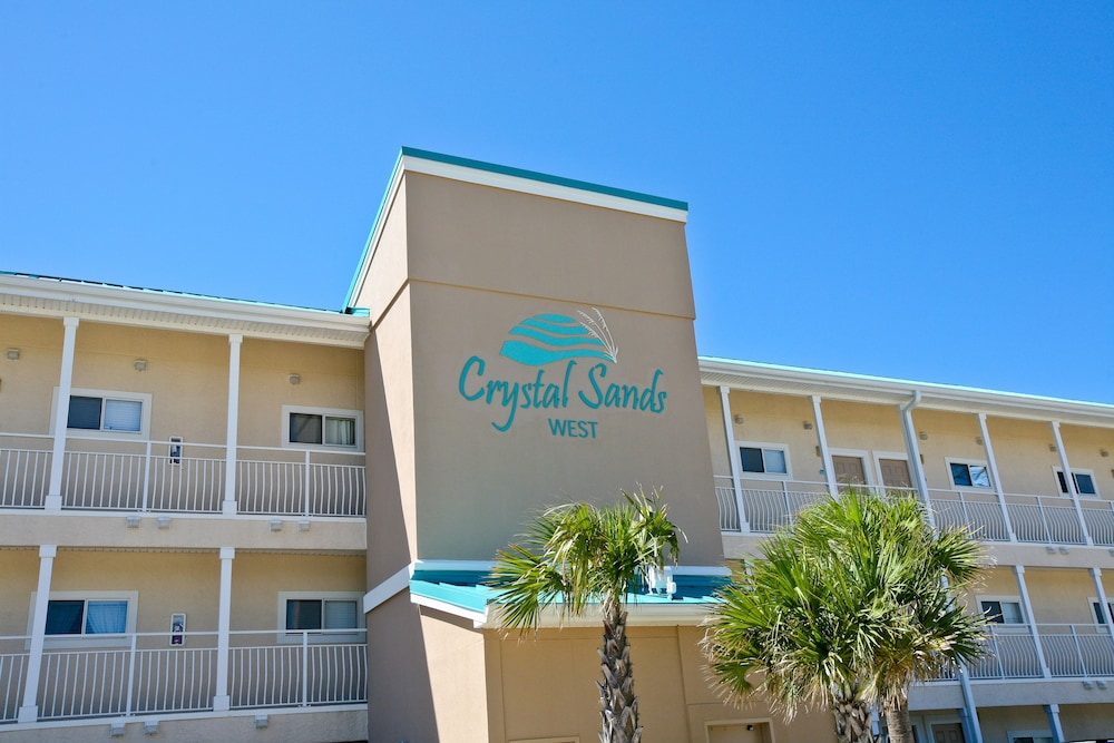 Front of Property, Crystal Sands Condominiums