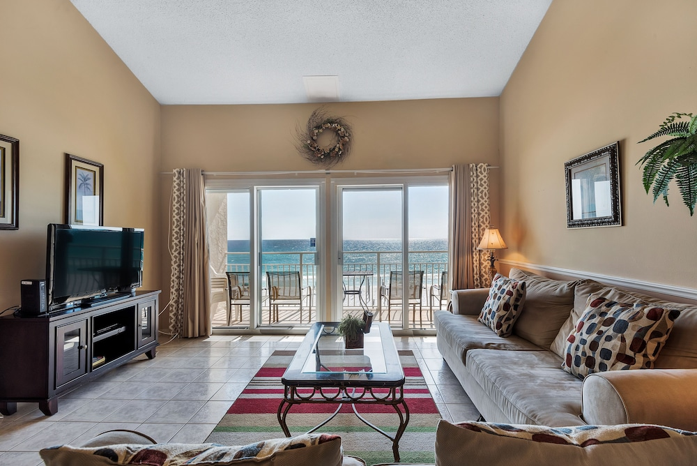 Living Room, Crystal Sands Condominiums