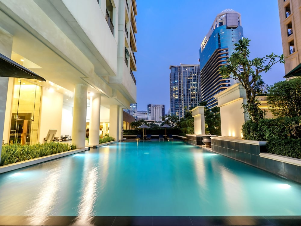 Outdoor Pool, Grande Centre Point Hotel Ploenchit