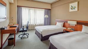 In-room safe, blackout drapes, free WiFi