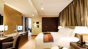Premium bedding, minibar, in-room safe, desk