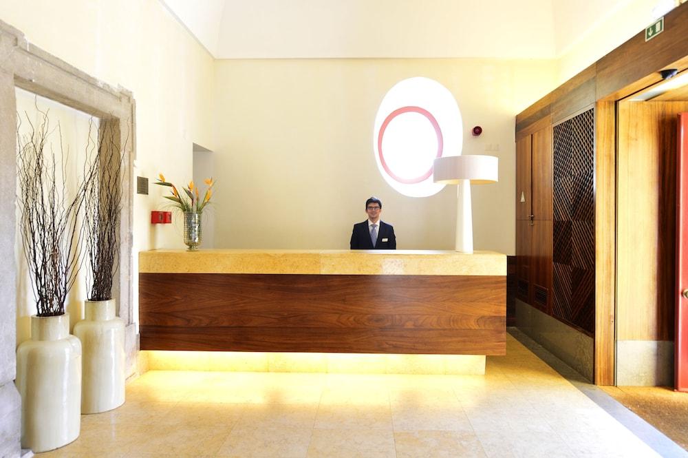 Réception pousada convento de tavira - historic hotel