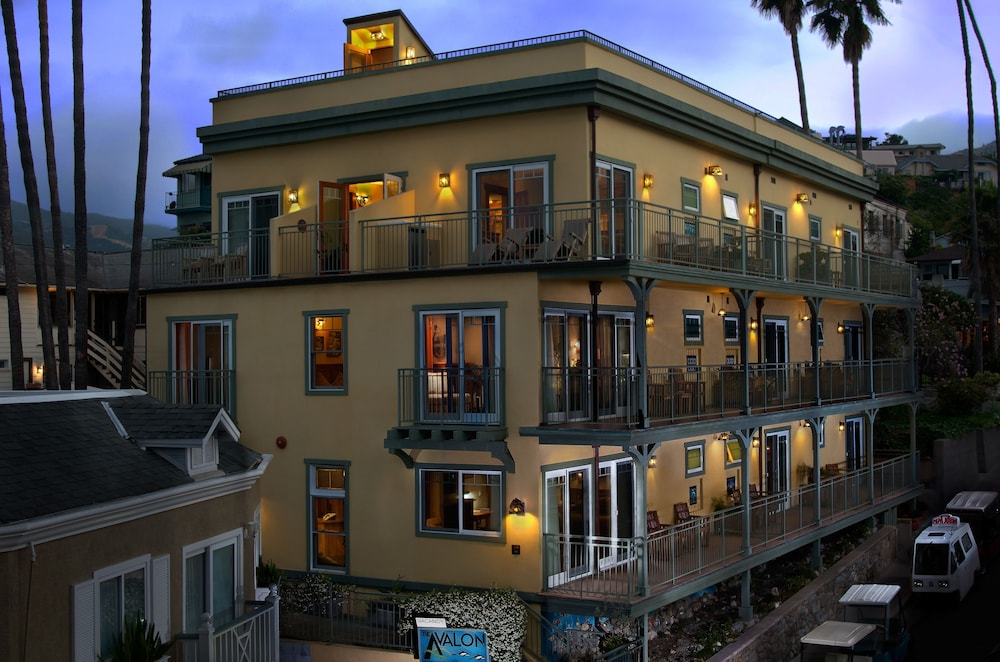Front of Property - Evening/Night, The Avalon Hotel on Catalina Island
