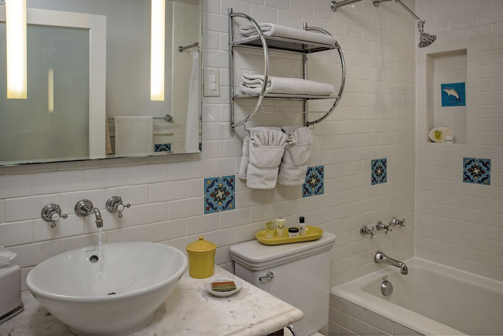 Bathroom, The Avalon Hotel on Catalina Island