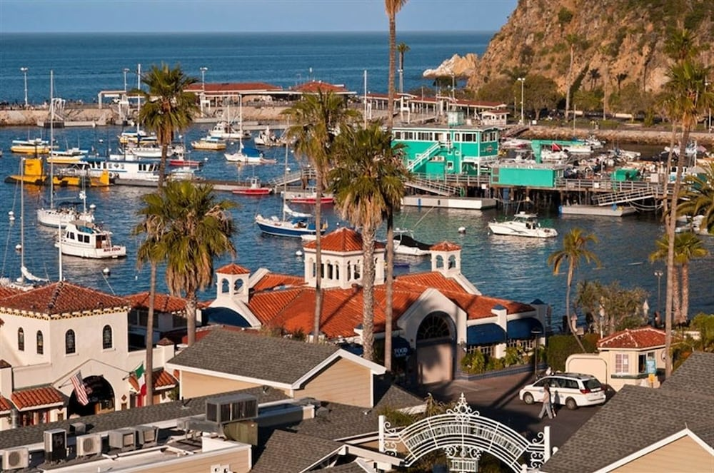Marina, The Avalon Hotel on Catalina Island