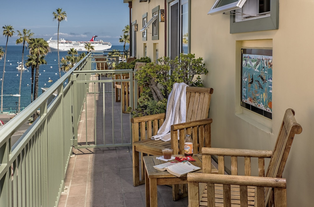 Balcony View, The Avalon Hotel on Catalina Island