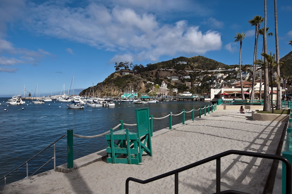 Beach, The Avalon Hotel on Catalina Island