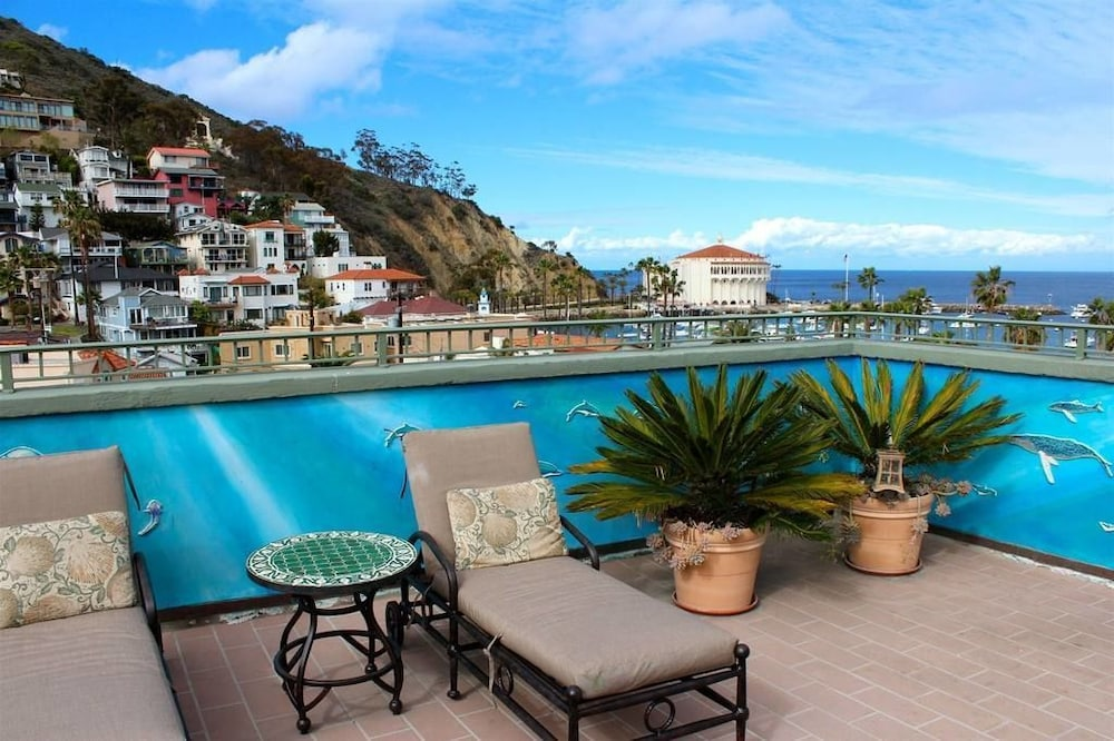 View from Property, The Avalon Hotel on Catalina Island