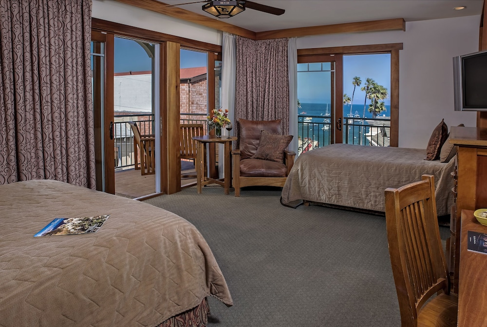 Beach/Ocean View, The Avalon Hotel on Catalina Island