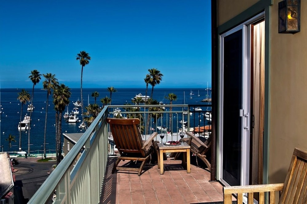 Balcony, The Avalon Hotel on Catalina Island