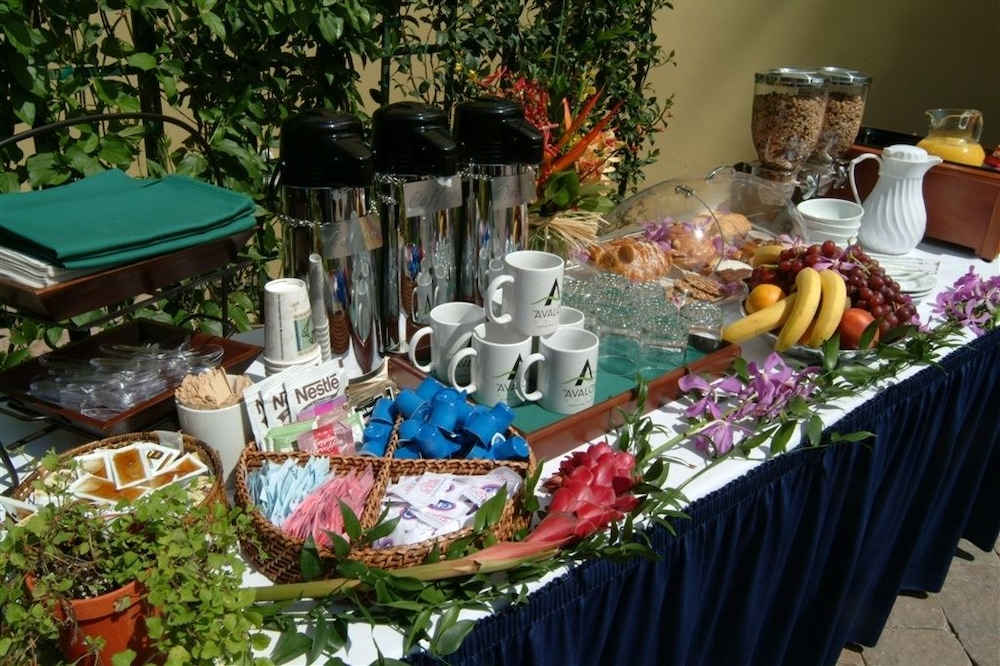 Coffee Service, The Avalon Hotel on Catalina Island