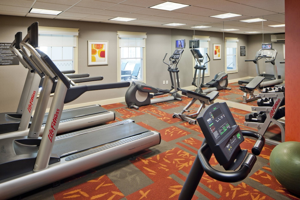 Fitness Facility, Residence Inn by Marriott Boston Norwood