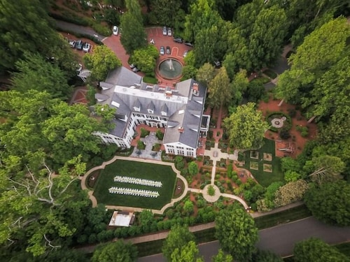 Aerial View, The Duke Mansion
