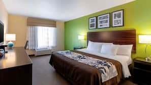 In-room safe, iron/ironing board, free WiFi, bed sheets