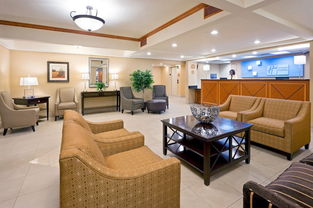 Lobby, Holiday Inn Express Hotel & Suites West Long Branch, an IHG Hotel