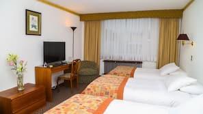 In-room safe, desk, free cots/infant beds, free WiFi